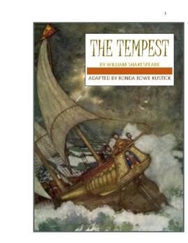 """""""The Tempest"""" adapted into a 10-minute play by Ronda Bowe"""