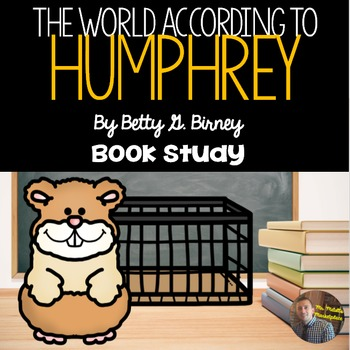 """""""The World According to Humphrey"""" by Betty G. Birney- Book"""