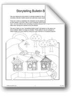 'Three Little Pigs': Storytelling Bulletin Board