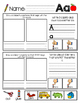 """Thumbs Up"" Beginning Sounds Practice Color and B&W (BUNDLE)"
