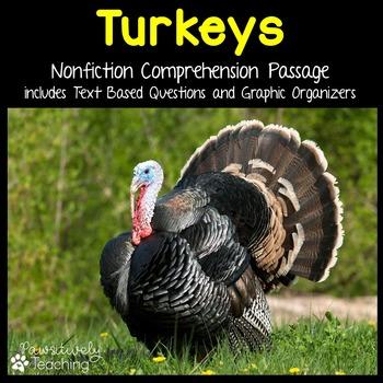 Turkey Reading Passage Nonfiction Text & Questions