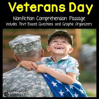 Veterans Day Reading Passage Nonfiction Text & Questions