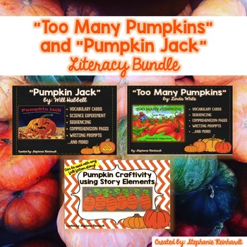 **Too Many Pumpkins, Pumpkin Jack and Story Elements Craft
