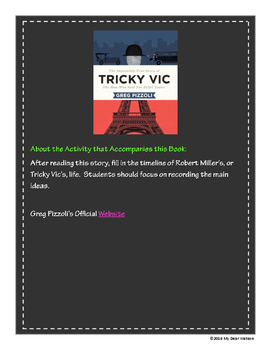 """Tricky Vic"" - GA Picture Book Award Nominee 2016-2017"