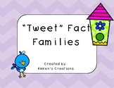 """""""Tweet"""" Fact Families"""