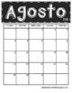 *Updated* 2016 - 2017 Chalkboard Calendars (Spanish Version)