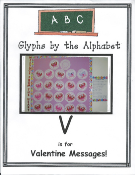 (V) Valentines Message - A Text Message from Cupid! Glyph