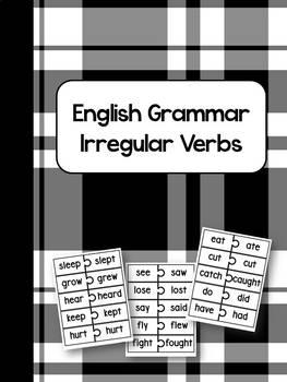 ★Verb tense★ Irregular verbs: Matching game / Past tense /