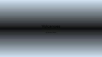 """Volcanoes"" by Semour Simon PowerPoint"