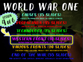 WORLD WAR ONE (PART 4 WESTERN FRONT) rich visual engaging
