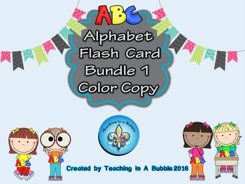 ABC Color Student Flash Cards