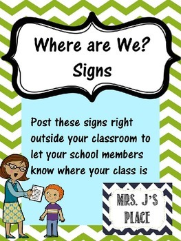 """""""Where are We?"""" Poster set"""