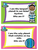 """""""Who Am I?"""" Planet Facts Riddle Task Cards"""