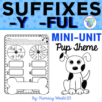 -Y and -Ful Suffixes with Otis the Pup