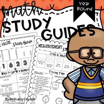{{YEAR ROUND}} Math Study Guides