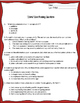 """Zebra"" Close Reading Worksheet for Code-X Unit 3"