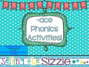 -ace Phonics Activities!