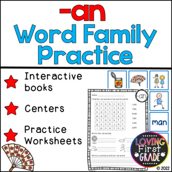 -an Word Family Pack
