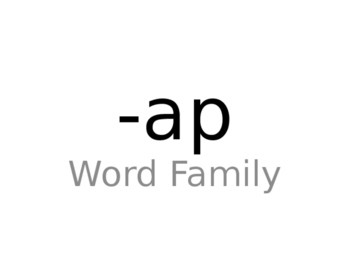 -ap Word Family Powerpoint