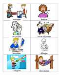 -ar Verbs with Clipart