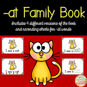 -at Family Fill in the Word Book