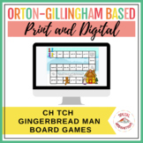 ch or tch? Gingerbread Story Board Game and Sort (Orton-Gi