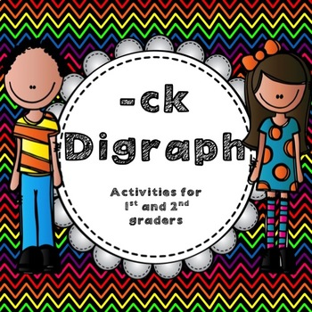 """-ck"" Digraph Activites for First and Second Graders"
