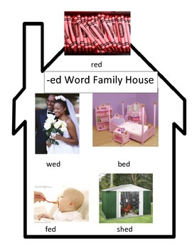 -ed Word Family House