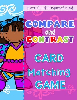 Compare Contrast SUMMER card matching