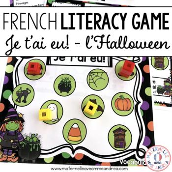 Jeu Je t'ai eu! Halloween (FRENCH Halloween Gotcha! Game)