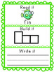 -in Word Family Packet, Read it, Build it, Write it Activi