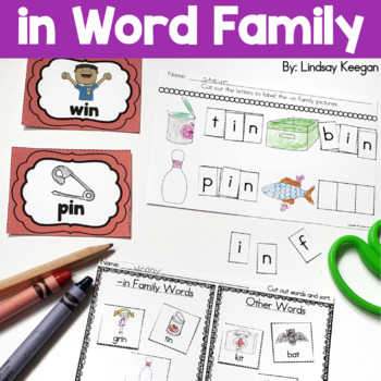 Word Family Fun! -in Family