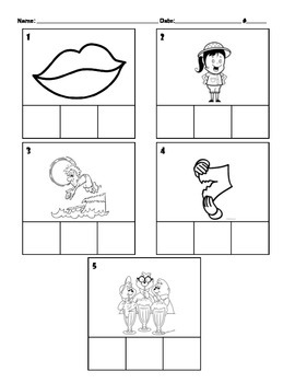 -ip Word Family Mixed Skills Spelling Activity