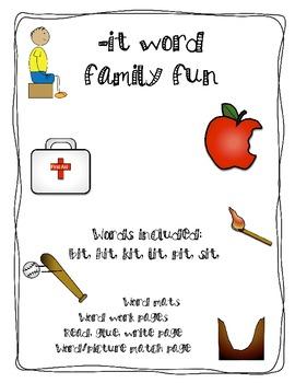 -it word family fun
