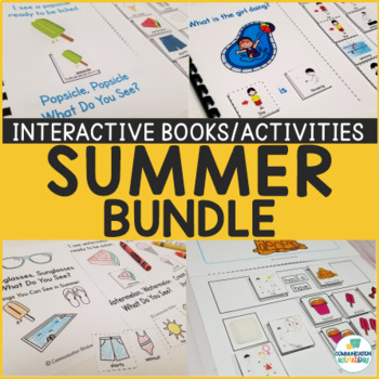 Summer Interactive Books and Activities Bundle