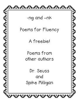 -ng and -nk poems