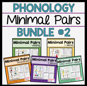 Minimal Pairs Bundle: R and L blends, Voicing, Nasals, Ini