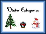 LOW PREP Winter Categories