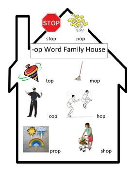 -op Word Family House