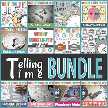 Telling Time the Bundle