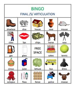 /s/, /r/, & /r/ Blends Articulation Bingo Bundle
