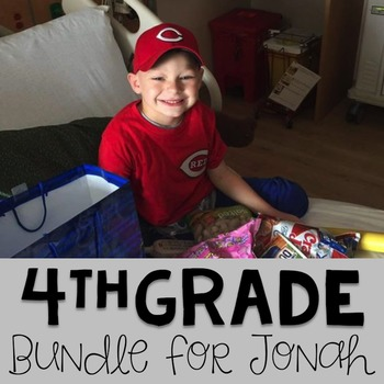 #teamjonah Fourth Grade Bundle