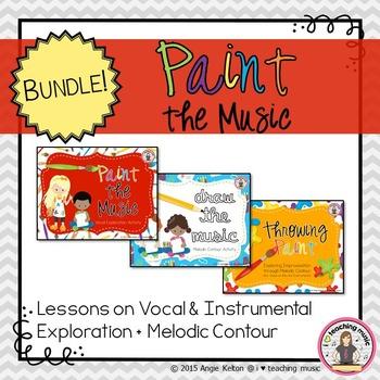 Paint the Music BUNDLE - Vocal/Instrumental Exploration +
