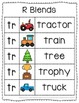 -tr Blend Anchor Chart & Practice {Click File, Print}