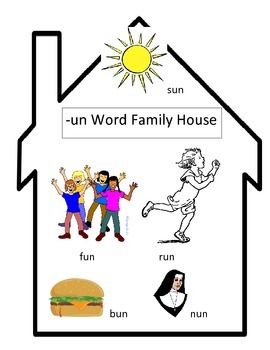 -un Word Family House