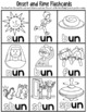 -un Word Family Worksheets