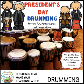 Presidents Day Drumming and Rhythm/Writing Instrument Bundle