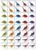 0-10 Dinosaur Number Cards