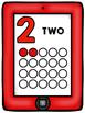 0-20 I pad number line
