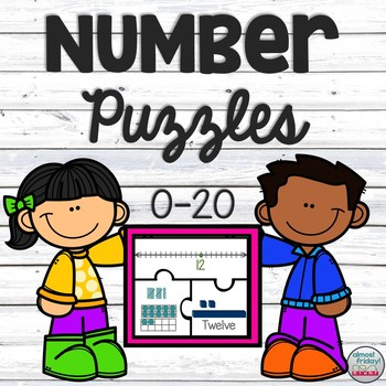 0-20 Number Puzzles
